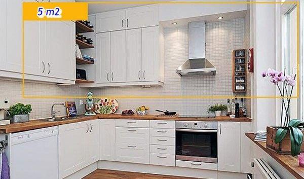 Hệ thống tủ bếp có sức chứa lớn