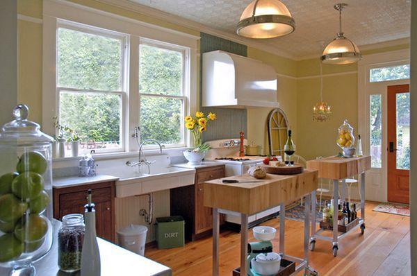 nhà bếp sạch sẽ hợp phong thủy