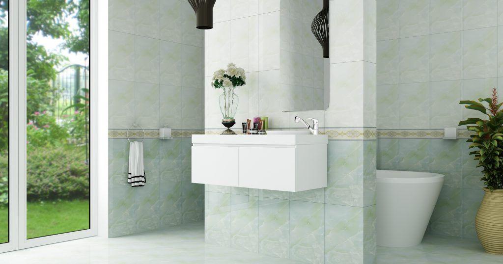 lựa chọn màu sắc gạch đẹp cho nhà tắm và vệ sinh.