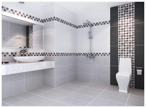 chọn gạch ốp lát cho nhà vệ sinh.
