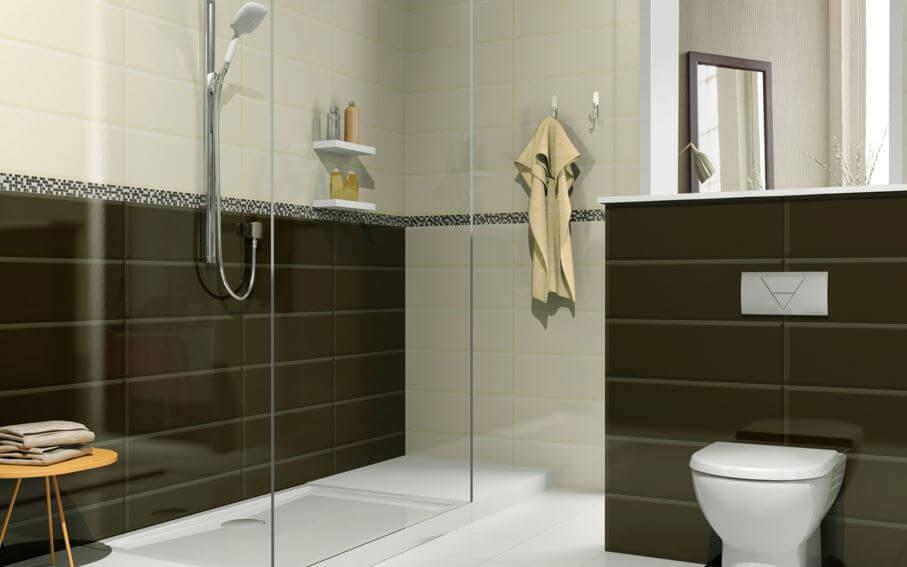 cách ốp gạch và viền khi ốp lát nhà vệ sinh.