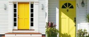 Pha sơn cửa đẹp, độc, lạ và đón tài lộc vào nhà
