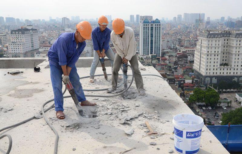 xây dựng sai phép phải dỡ bỏ khiến chi phí xây dựng tăng