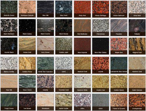 mẫu đá granite nhân tạo đẹp.