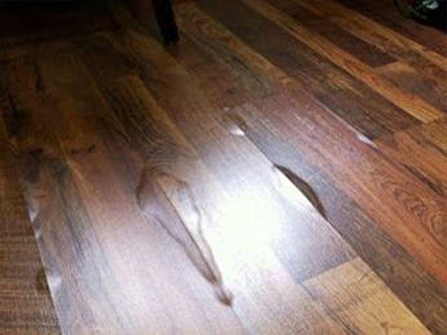 cách xử lý sàn gỗ công nghiệp bị thấm nước sau mưa