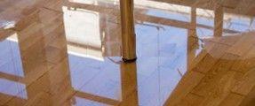 Khắc phục tình trạng sàn rộp, tường ngấm nước sau mưa