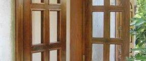 Khắc phục sự cố cửa gỗ bị cong, vênh, co ngót