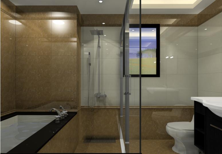 lựa chọn gạch men bóng ốp lát phòng tắm