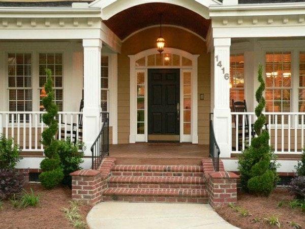 bố trí cửa chính ra vào hợp phong thủy mang vận khí tốt cho cả ngôi nhà