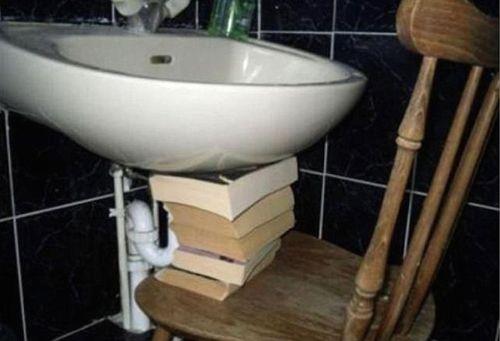 những lỗi hài hước khi tự sửa nhà