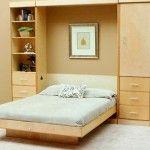 các mẫu giường gấp tiện dụng cho không gian nhà nhỏ