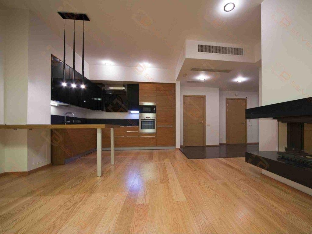 sàn gỗ công nghiệp đẹp cho nhà bếp.