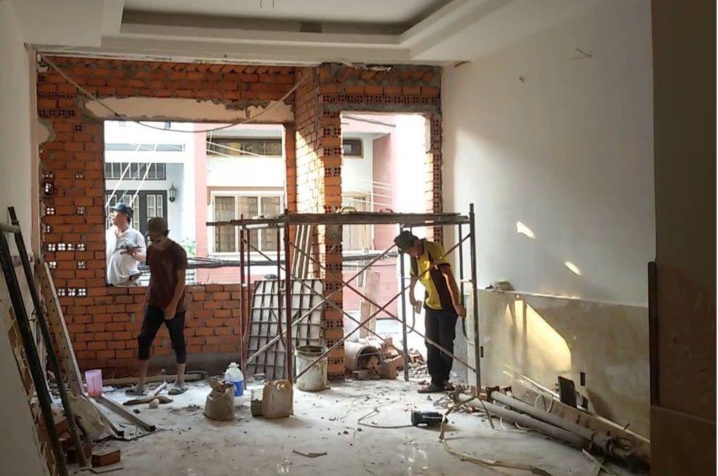 Sửa chữa nhà đẹp tại Thường Tín, Hà Nội.