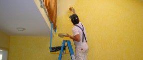 sơn kém chất lượng làm hỏng tường nhà.