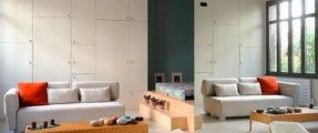 Cải tạo, phân chia không gian mở cho căn hộ 50 m2
