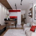 ý tưởng kéo rộng không gian sống cho nhà nhỏ hơn 20 m2