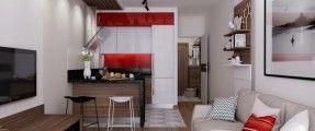 Ý tưởng đơn giản kéo rộng không gian cho những căn hộ hơn 20 m2 (P.2)