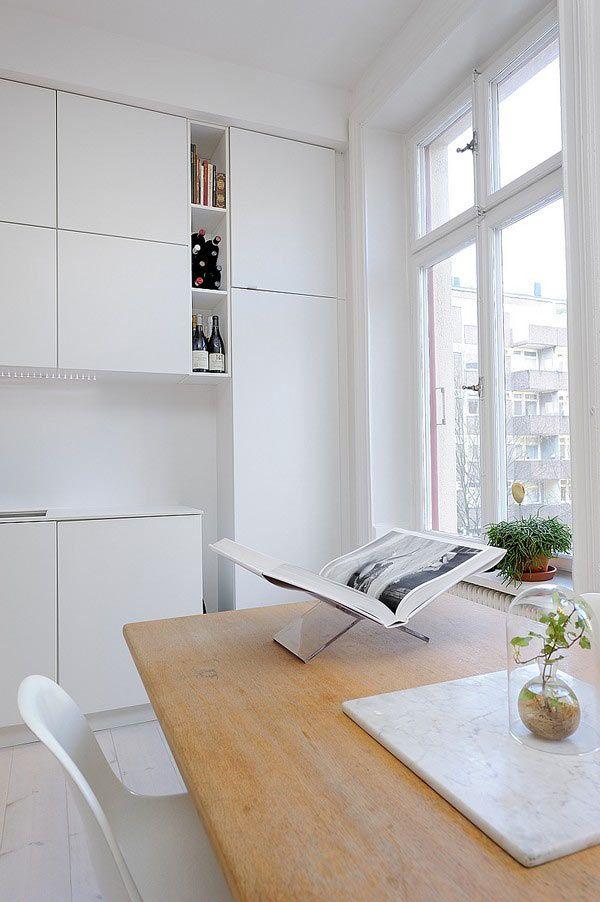 nội thất tinh tế cho chung cư nhỏ 40 m2.
