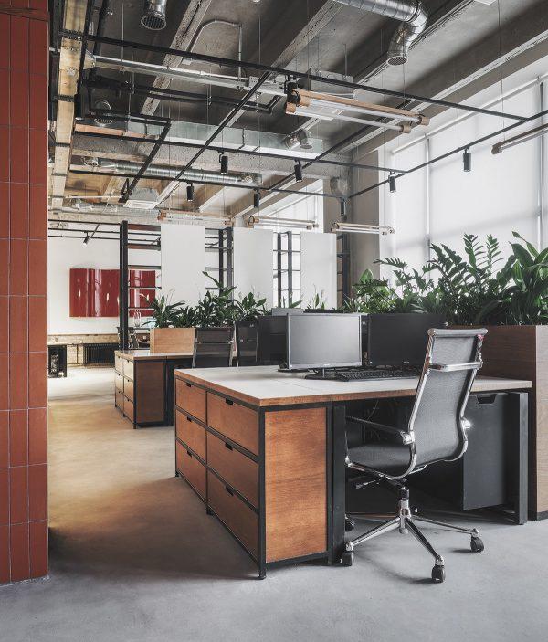 Thiết kế văn phòng lĩnh vực công nghệ thông tin xanh