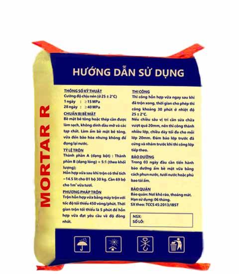 ưu điểm của vữa chống thấm mortarr.