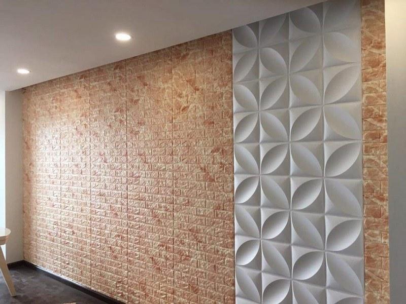 Xốp dán tường 3D có bền không với màu sắc tươi sáng