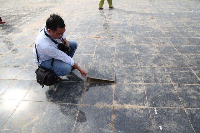 nguyên nhân gạch bị bong tróc sau khi dán