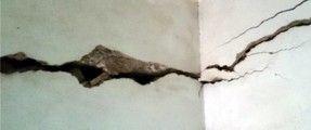 Làm gì khi tường nhà bị nứt?