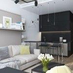 ý tưởng nới rộng không gian cho nhà nhỏ dưới 30 m2