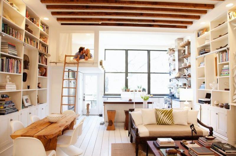 ý tưởng thông minh thêm không gian cho nhà nhỏ