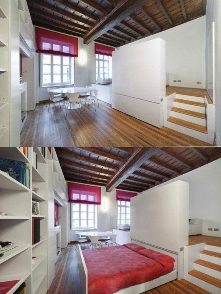 ý tưởng thông minh nới rộng không gian cho nhà nhỏ