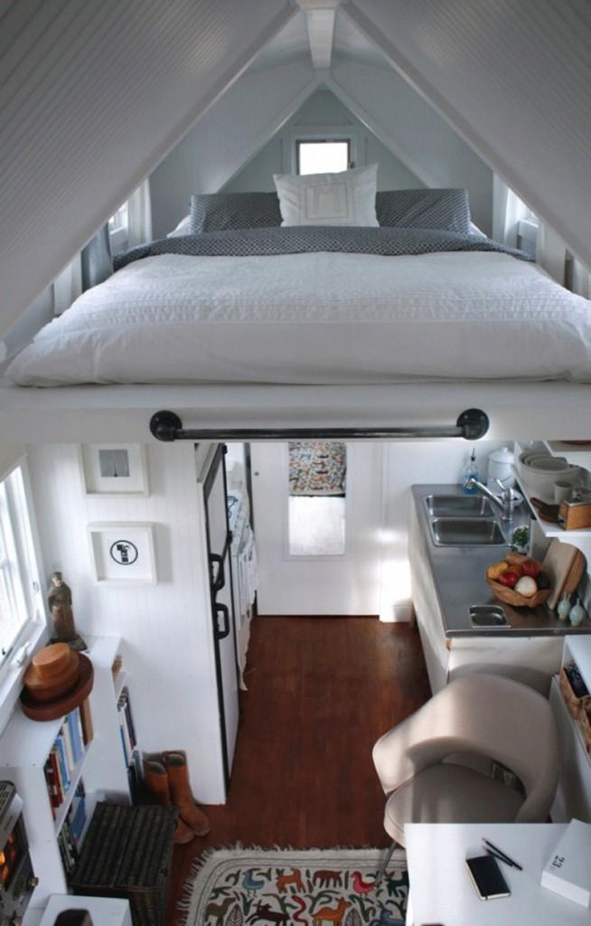 ý tưởng thông minh nới rộng không gian và thêm phòng ngủ cho nhà nhỏ