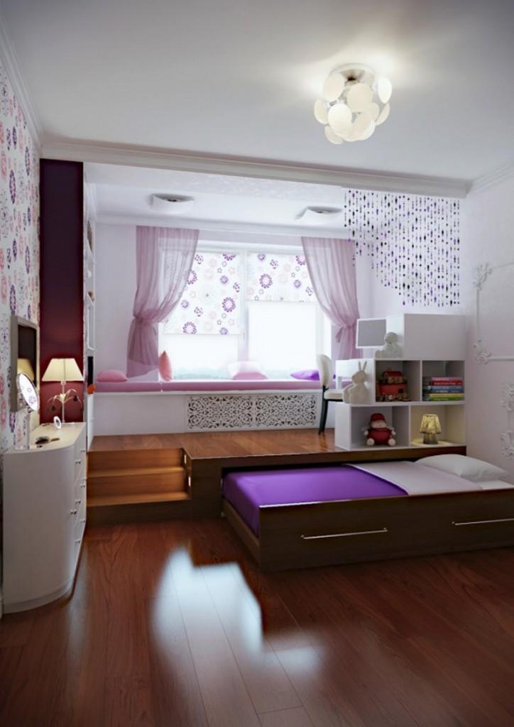 ý tưởng thông minh nới rộng không gian phòng ngủ cho nhà nhỏ