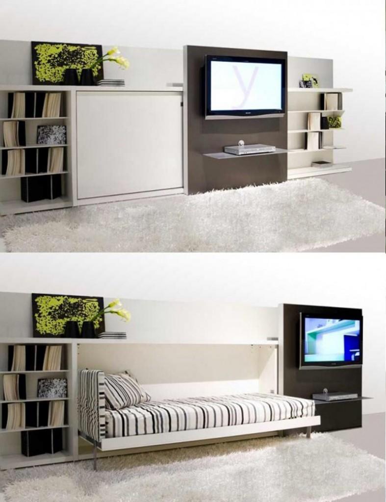 ý tưởng thông minh nới rộng phòng khách nhà nhỏ