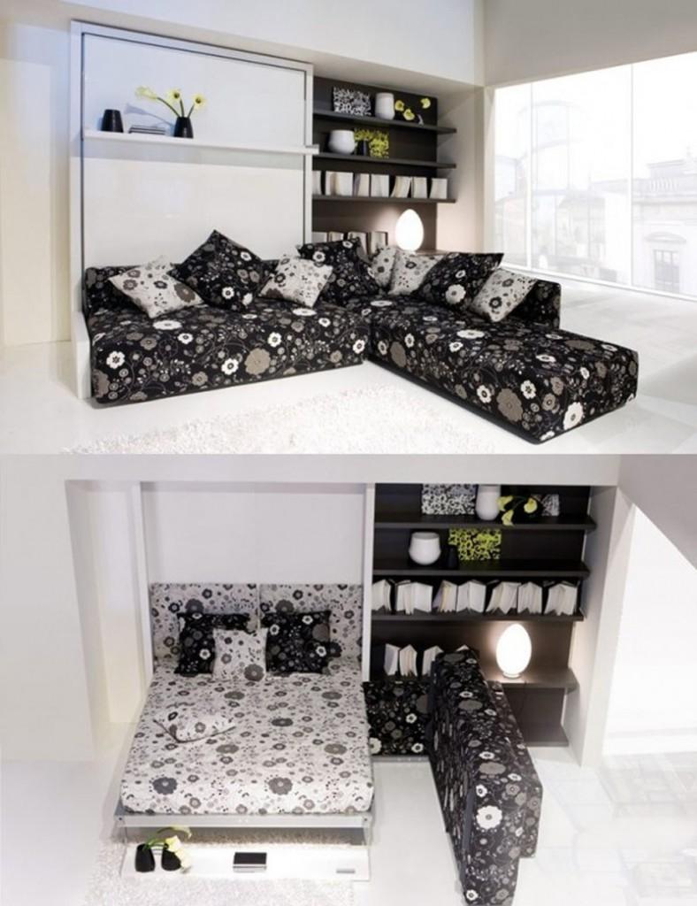 ý tưởng thông minh nới rộng phòng khách, phòng ngủ nhà nhỏ