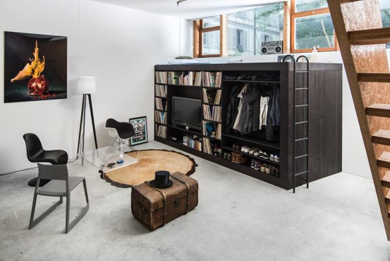 ý tưởng thông minh thêm không gian lưu trữ cho nhà nhỏ